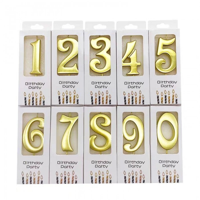Golden Number Candle